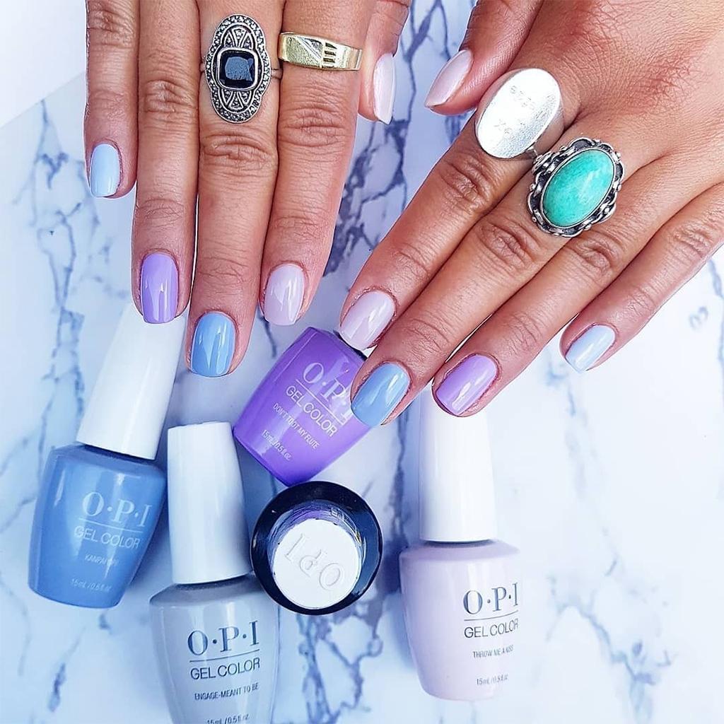 OPI Gel Nail Polish Colors